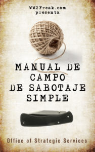 MANUAL DE CAMPO DE SABOTAJE SIMPLE - High Resolution